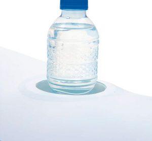 Piscina Hinchable con posa vaso