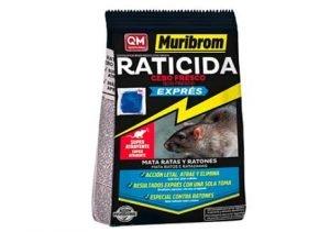 Muribrom Quimunsa Raticida Cebo Fresco EXPRÉS 1kg Veneno Ratones, Ratas y roedores