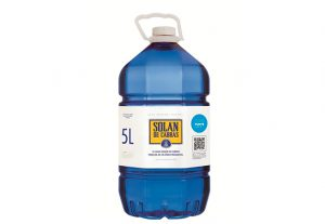 Agua Mineral Natural Solan de Cabras