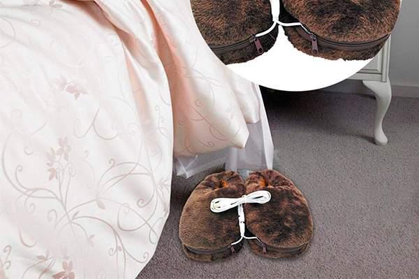 Mejores zapatillas eléctricas para calentar los pies