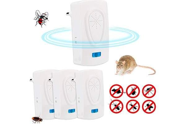 Mejores ahuyentadores ultrasónicos de insectos y roedores
