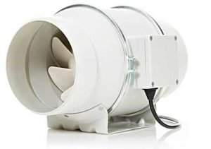 STERR Extractor en línea con ventilador