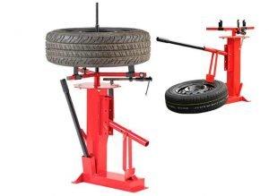 Desmontadora destalonador de neumáticos manual universal Jomafa