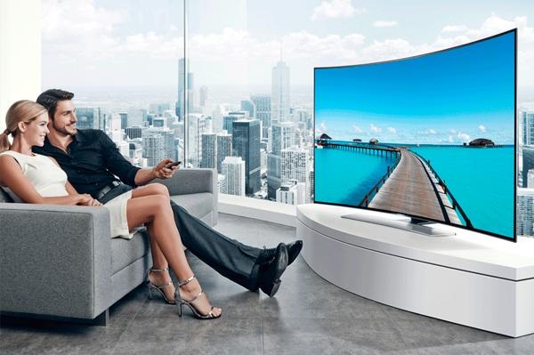 Los mejores televisores curvos