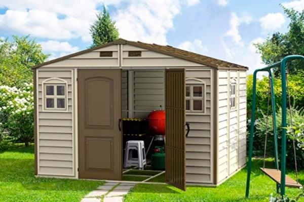 Cobertizos de almacenamiento para exterior
