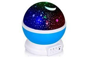 Lámpara Proyector Estrellas