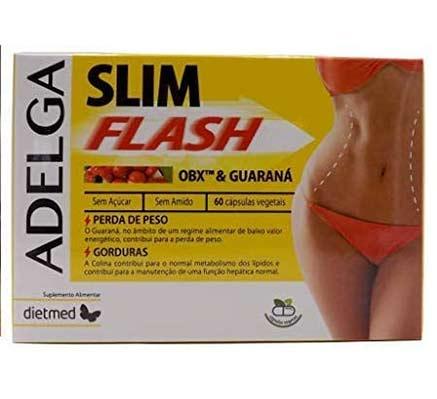 Pastillas para adelgazar ADELGA SLIM FLASH Exclusiva formula OB-X