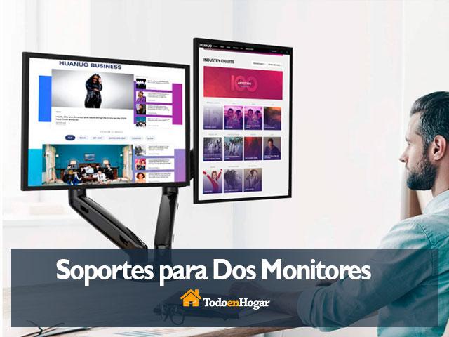 Mejores Soportes para Dos Monitores